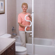 Home - Security Pole And Curve Grab Bar