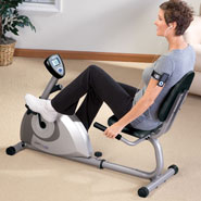 Exercise & Fitness - Magnetic Recumbent 1350 Exercise Bike