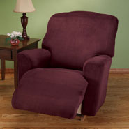 Home Comforts - Faux Suede Large Recliner Slipcover