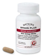 Watkins ™ Brain Plus 60 caplets
