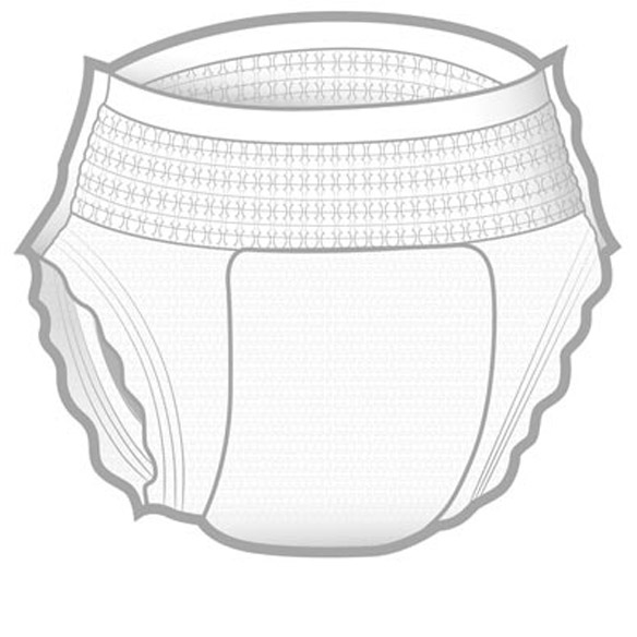 Protective Disposable Underwear, Package