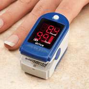 Nasal Congestion - Fingertip Pulse Oximeter