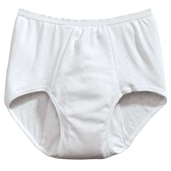 Womens 12 oz. Incontinence Panty