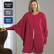 35' Below Fleece Bell Cape