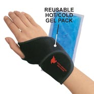 Wrist Support With Hot Cold Gel Pack