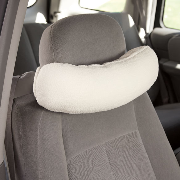 Sherpa Car Neck Support Car Neck Support Pillow Easy