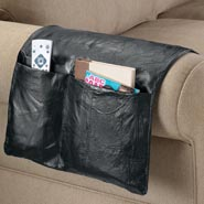 Home Necessities - Leather Armchair Caddy