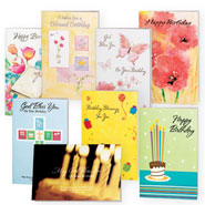 Hobbies & Books - Assorted Birthday Cards - 24 Pack