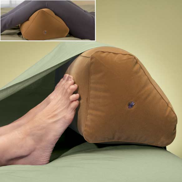 Inflatable Foot Pillow Easycomforts