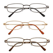 Reading Aids - Spring Hinge Reading Glasses