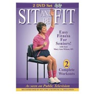 Exercise & Fitness - Sit and Be Fit Fitness DVD