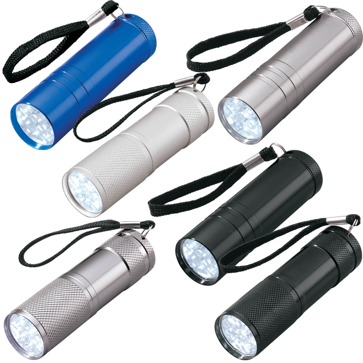 6 Pc LED Flashlight Set-338232