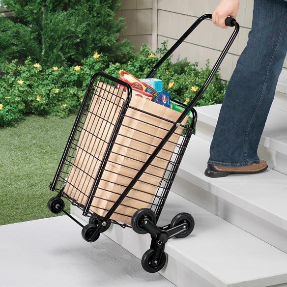 6 Wheel Rolling Shopping Cart Easycomforts