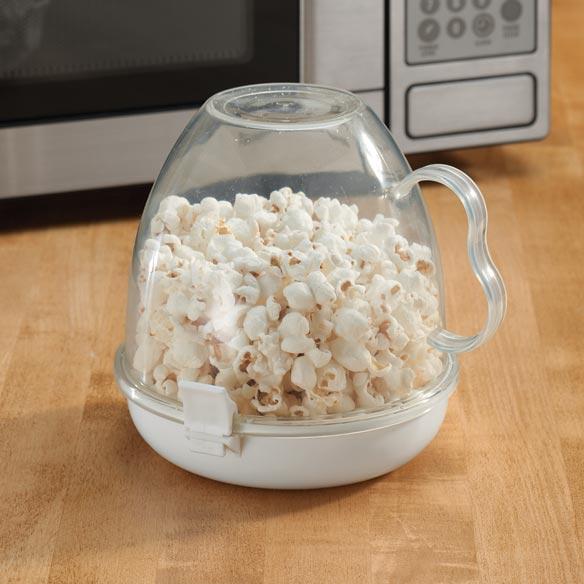 Microwave Popcorn Maker, Clear