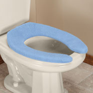Bathroom - Elongated Toilet Seat Cover