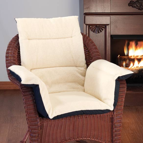 Fleece Pressure Reducing Chair Cushion