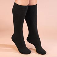 Comfort Footwear - Fleece Lined Knee Highs