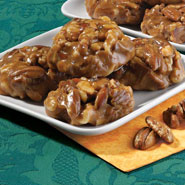 Sugar-Free Sweets - No Sugar Added Chewy Nut Cluster Pralines - 12 oz.