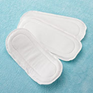 Disposable Pads - Extra Long Reusable Incontinence Pads Set of 3