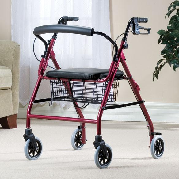 Walkabout Wide 4 Wheeled Walker