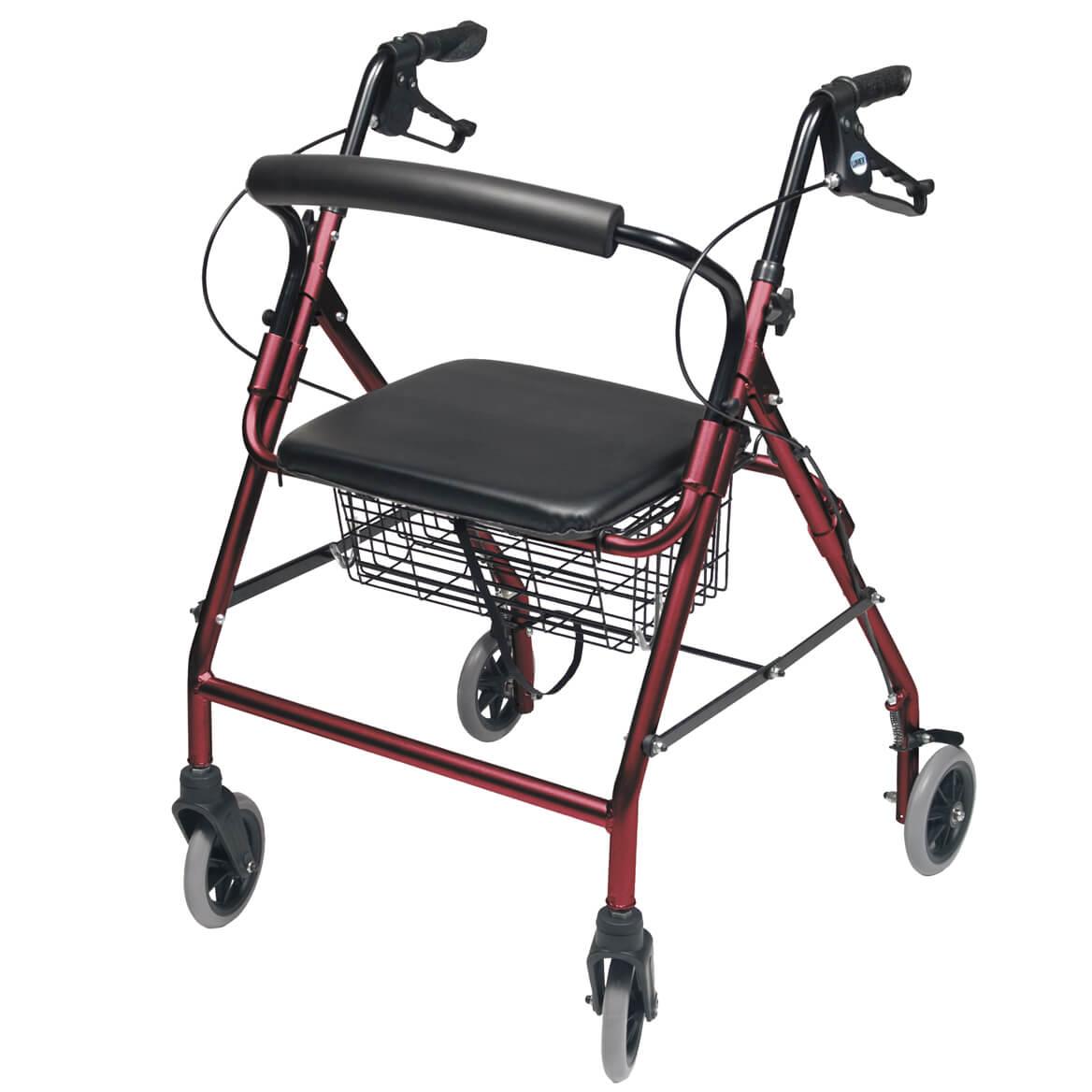 Lumex® Walkabout Wide 4 Wheeled Walkers-340684