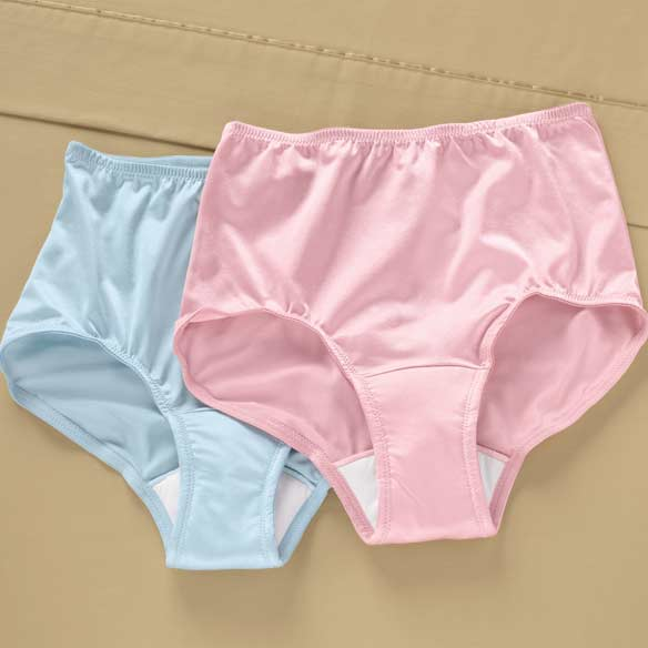 Nylon Incontinence Briefs-2 pack