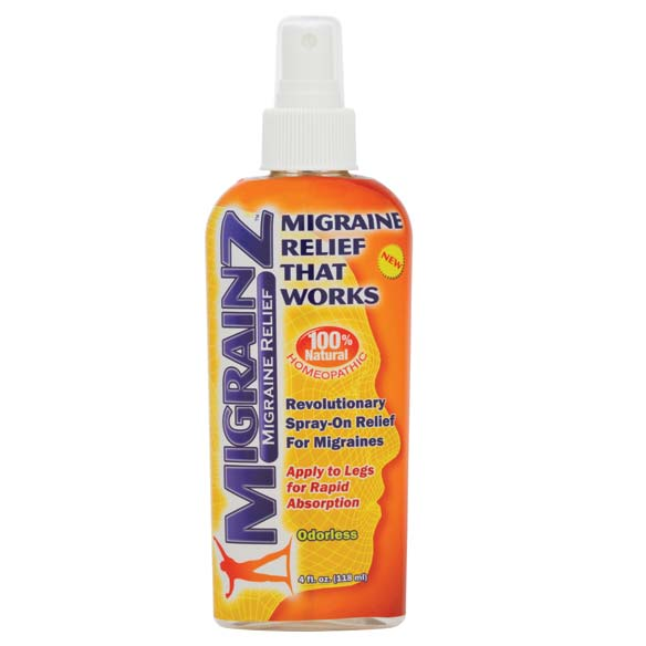 Migrainz Migraine Relief Spray