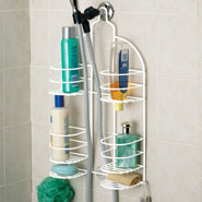 Bathroom Accessories - Hand-Held Shower Caddy