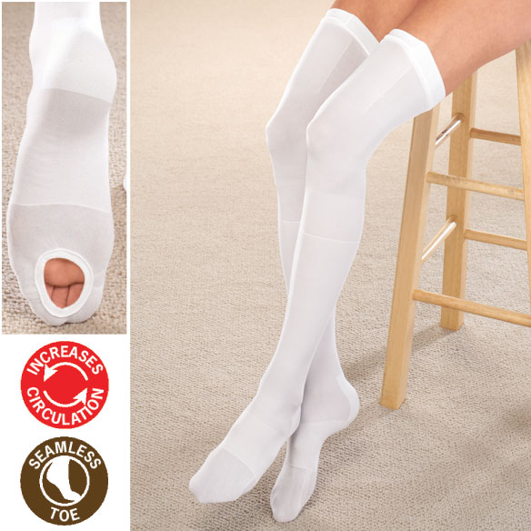 Anti-Embolism Thigh Highs