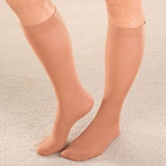 Compression Hosiery - Calf Support Trouser Socks, 3 pair pack