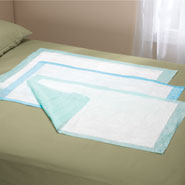 Water Proof Bed Pads and Under Pads - At Ease® Disposable Underpads