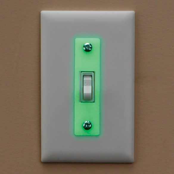 Glow in the Dark Switch Strips, Set of 3