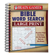 New - Large Print Bible Word Search