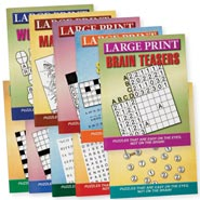 Office & Leisure - Large Print Puzzles 10 Pack