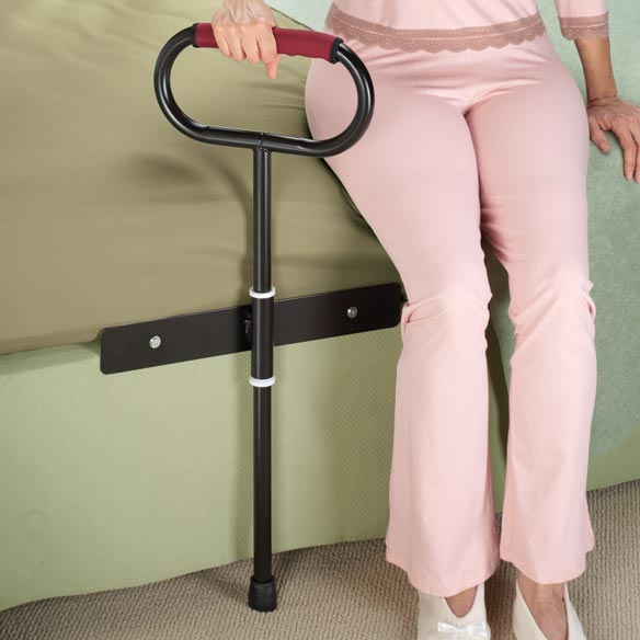 Cushioned Bedside Support Rail
