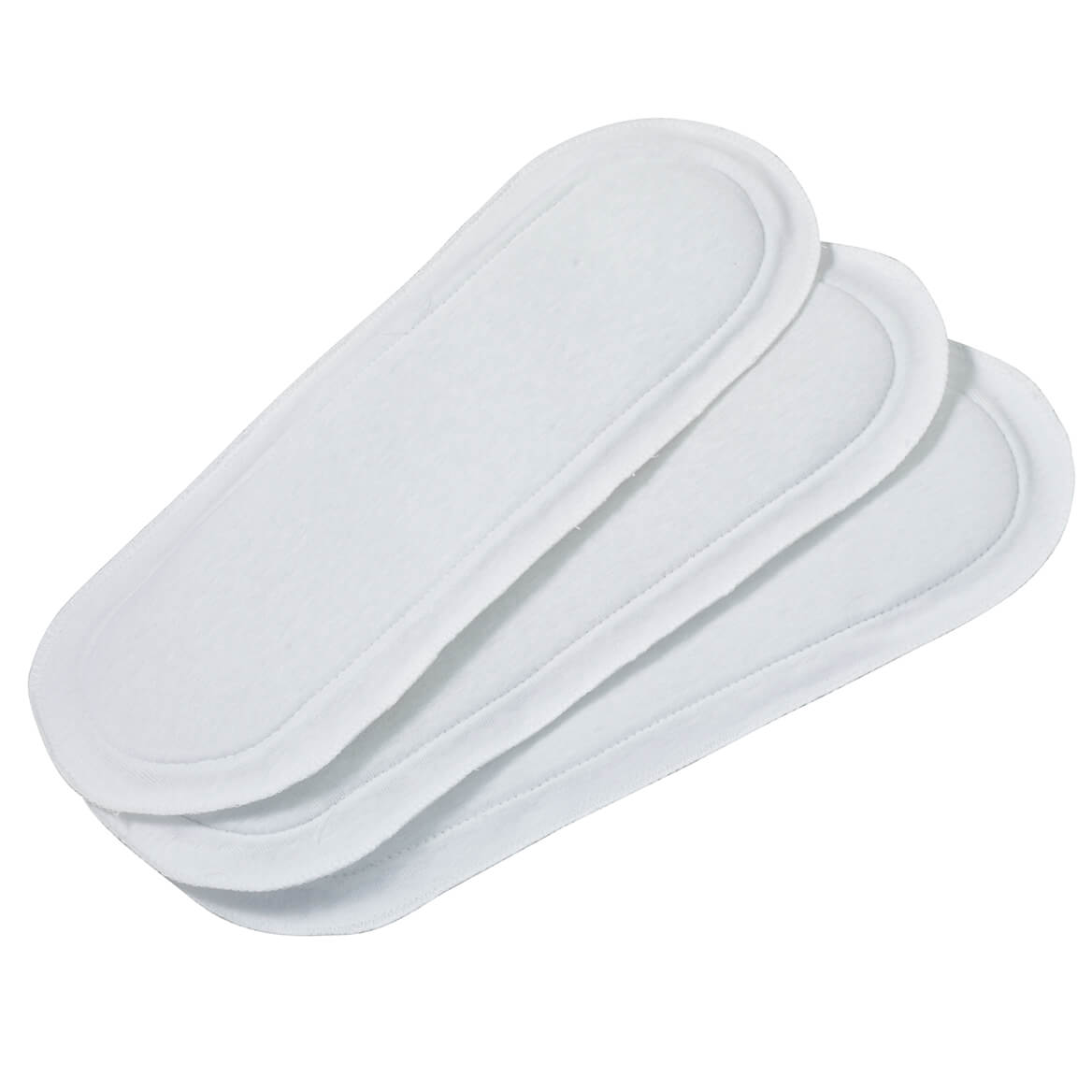Extra Long Reusable Incontinence Pads, Set of 3-343158