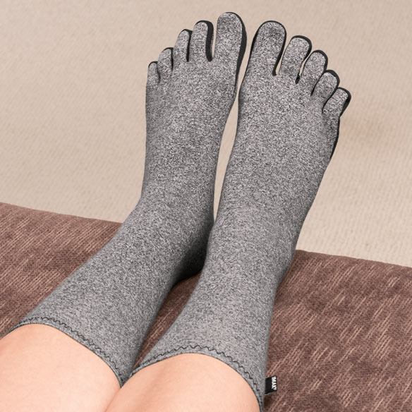 Compression Socks With Toes For Arthritis Easy Comforts
