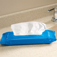 Incontinence - Flushable Personal Cleansing Wipes