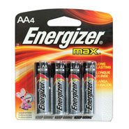 Energizer AA Battery 4pk
