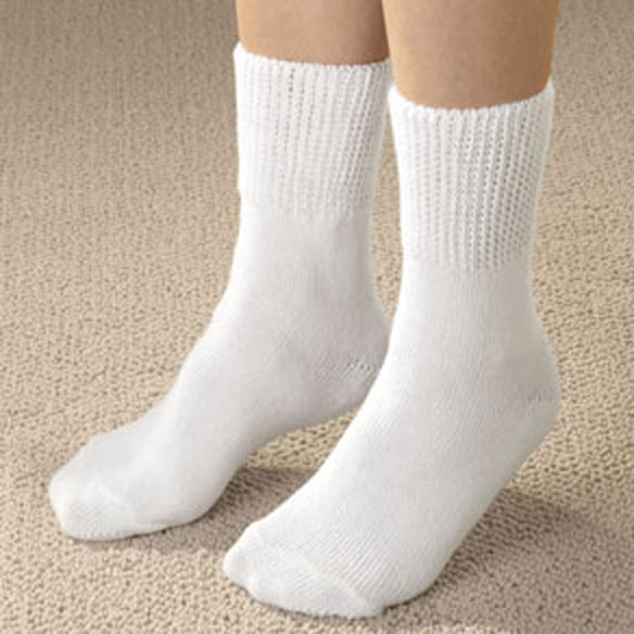 Extra-Wide Diabetic Ankle Socks