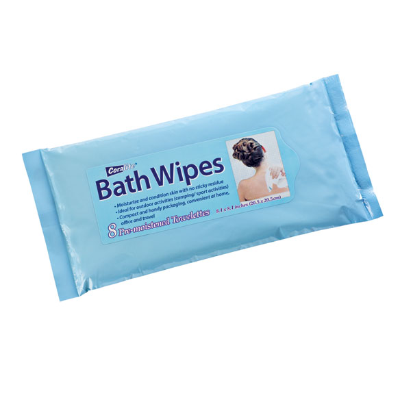 Bathing Wipes - Pack Of 8