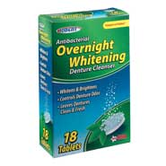 Oral Hygiene - Whitening Overnight Denture Cleanser