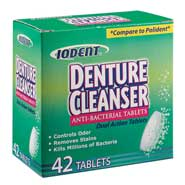 Anti Bacterial Denture Cleanser Tablets