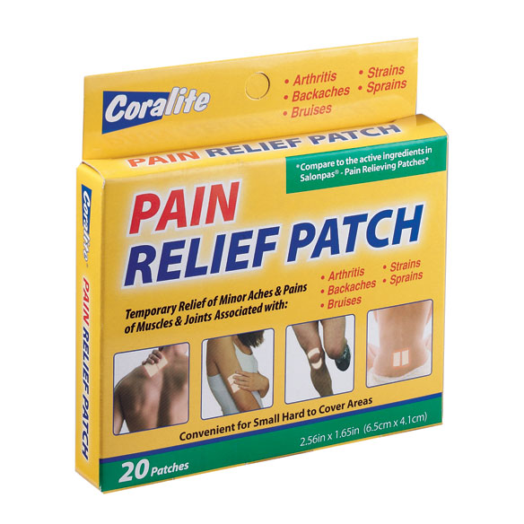 Pain Relief Patch, Set of 20