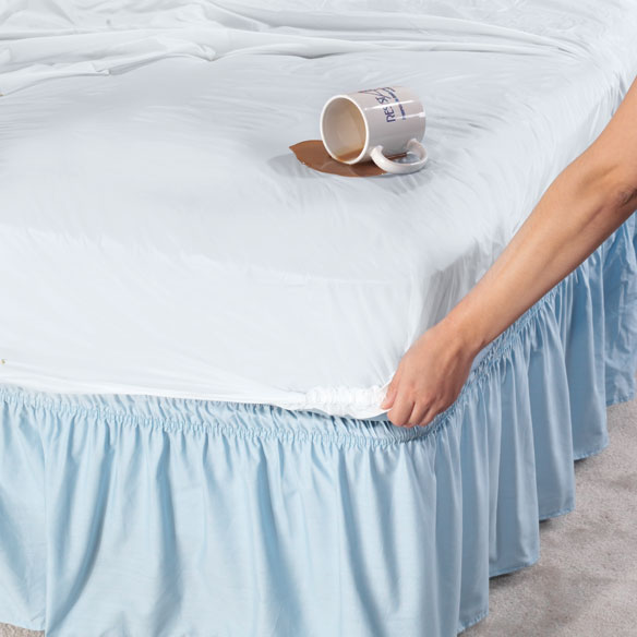 Fitted Vinyl Bed Protector