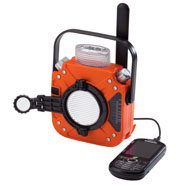 Home Necessities - Self Powered Emergency Radio and Flashlight