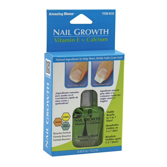 Nail Growth with Vitamin E & Calcium