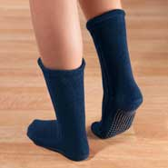 Fleece Non Skid Slipper Socks