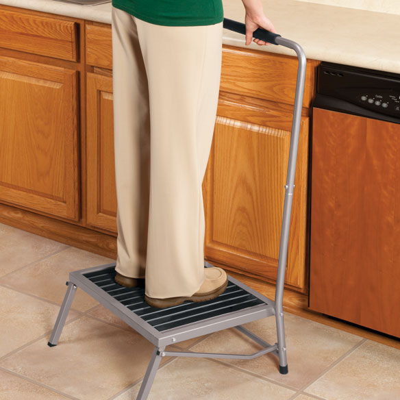 Folding Step Stool With Handle Collapsible Step Stool