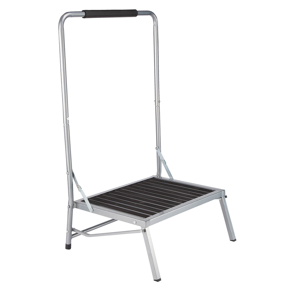 Folding Step Stool With Handle For Elderly Or Disabled